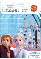 Disney Frozen 2 Wipe-Clean Children's Reward Charts with Stickers & Pen