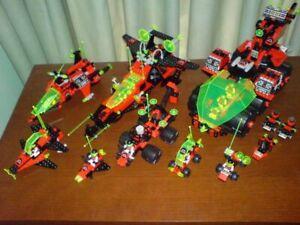 Lego Space M-Tron Bundle Sets 6989, 6956, 6923, 6896, 6877, 6833, 6811, 1478