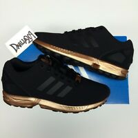 newest f4545 8a04d Adidas Zx Flux Copper Rose Gold Bronze Black wallbank-lfc.co.uk