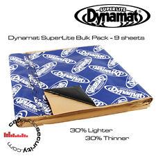 """Dynamat Superlite a granel Kit 9 Hojas amortiguación del ruido 18"""" X 32"""" Hojas"""