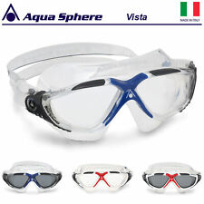 Aqua Sphere Swimming Goggles Vista Clear & Dark Lens Mens Ladies Adults 2020