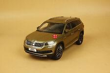1/18 China Volkswagen Skoda KODIAQ suv diecast model brown color