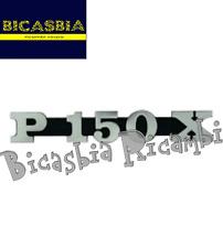 1711 TARGHETTA COFANO LATERALE VESPA PX 150 P150X - BICASBIA
