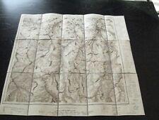 alte Karte Landkarte Sachsen Umgebung von Dresden Nr.5 von 9 Pirna von 1912