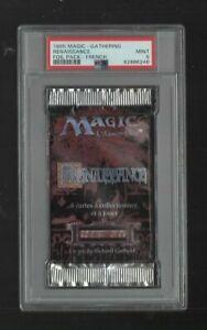 1995 Magic the Gathering Renaissance Foil Pack - French PSA 9 MINT 62886248