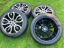 """FACTORY 21"""" RANGE ROVER VOGUE SPORT DISCOVERY ALLOY WHEELS PIRELLI TYRES"""