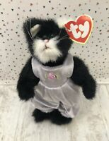 With Tag Ty Purrcy The Cat Attic Treasures Collection Soft Toy Collectible
