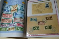 S. VIETNAM   1951  Stamp  -  Thirteen  Used  Stamp   with   Album   pages .
