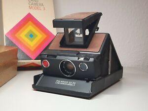 Polaroid SX 70 Land Camera Sofortbildkamera in original Box + Anleitung