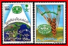 SAUDI ARABIA 1995 UNO FAO ANNIV. SC#1226-27  MNH FOOD D1
