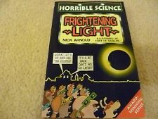 book - Horrible Science:Frightening light