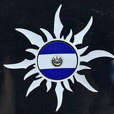 El Salvador Sun Salvadoran National Flag Car Decal Sticker