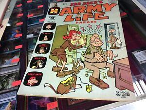 Sad Sack's Army Life Parade 1963 Harvey Comic Book #1 FB