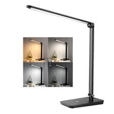 8W Touch Sensor 84 LED Light Folding Desk Table Reading Book Lamp+Power Adapter