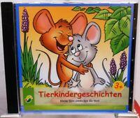Tierkindergeschichten + Kleine Tiere entdecken die Welt + CD + Hörbuch + Kinder