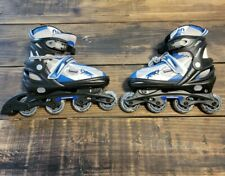 New listing Mongoose Roller blades Adjustable inline  skates Youth size 5-8 - in Good Shape