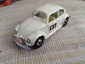1/64 matchbox lesney England 1968 Volkswagen Beetle 1500 rally Monte Carlo