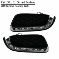 Chrome Head lights Lamps Surround Frame Rims For 451 2