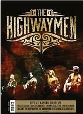 THE HIGHWAYMEN (LIVE AT NASSAU COLISEUM - CD/DVD SET SEALED + FREE POST)