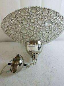 Modern Chandelier Crystal Glass Ceiling Light Fixture Pendant Hanging Lamp India