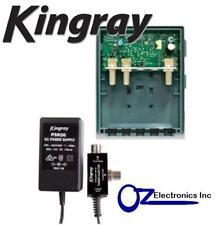 MHW25F KINGRAY DIGITAL TV MASTHEAD AMPLIFIER BOOSTER INC PSK06 POWER SUPPLY