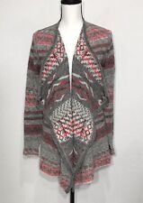 Lucky Brand Open Front Cardigan Sweater Size Small