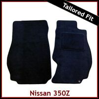 Fits for Nissan 350Z 2002-2009 Fully Tailored Fitted Carpet Car Floor Mats BLACK