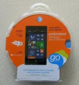 Nokia Lumia 520 - 8GB - Black (AT&T) Smartphone. New Sealed