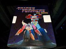 Transformers: The Movie Blu-ray Disc 2016 30th Anniversary Edition SteelBook