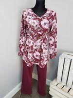 Cybele Pj's Pyjama Set Size 8 (Z33/15)