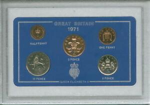 1971 Coin Set 50th Birthday Birth Year Present / Golden Wedding Anniversary Gift