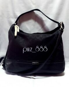 COACH Park Signature Legacy 2 Way Shoulder Bag