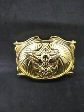 Mighty Morphin Power Rangers Gold Belt Clip Buckle  Bandai