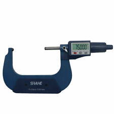 Shahe 75 100mm 0001mm Digital Tube Micrometer With Double Round Head Tube Gauge