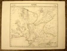 SUD DU PAKISTAN INDUS Carte géographique d'Asie n°81 VANDERMAELEN 1827 old map
