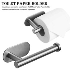 New ListingModern Toilet Paper Holder Stainless Steel Rack Wall Mounted Tissue Roll Stand