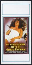 LOCANDINA, DECLIC DENTRO FLORENCE, GUERIN, MILO MANARA STORY POSTER ERROTICO