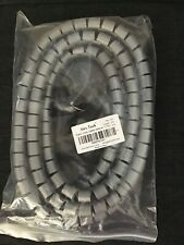 """Easy Wrap Cable Soeeve 3/4"""" 10 Ft Gray"""