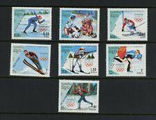 R507  Cambodia 1988  Olympics skating skiing hockey  7v.  MNH
