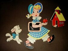 New listing Vintage Dolly Toy Co-Pin-Ups- #228 Mary.Little Lamb- Wall Hanging-Euc