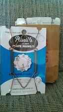"12pk Priscilla Plate Hangers. 5-8"""