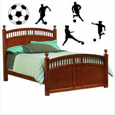 Soccer Players Sports Shapes Vinyl Wall Decals Sticky Decor Letters Stickers Art