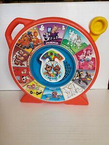 "Vintage Mattel See' N Say ""Color  Pals"""