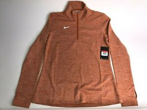 *NEW* $75 NIKE ELEMENT CREW 1/2 ZIP LONG SLEEVE POLO WOMEN'S SIZE XL 923261-494