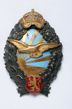 The WWII Bulgaria Military Pilot Badge. Old and Original!