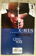 CIVIL WAR: X-MEN #1 2 3 4 Signed by Yannick Paquette NM 1st Prints