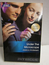 Mills & Boon UNDER THE MICROSCOPE by JESSICA ANDERSEN Very good condition