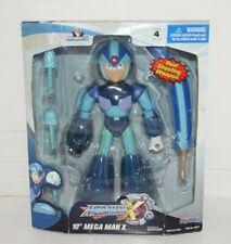 """Jazwares Inc MEGA MAN X 10"""" Figure 2004 NIP New Megaman"""
