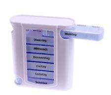 Pillenbox 7 Tage Medikamentendosierer Pillendose Tablettendose Tageseinteilung