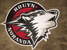 Rouyn-Noranda Huskies QMJHL CHL CCM Hockey Jersey Large Front Patch Crests B
